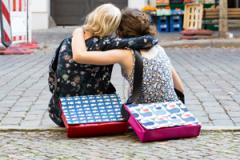 Taschen »Tagediebin« in der Kopenhagener Str.