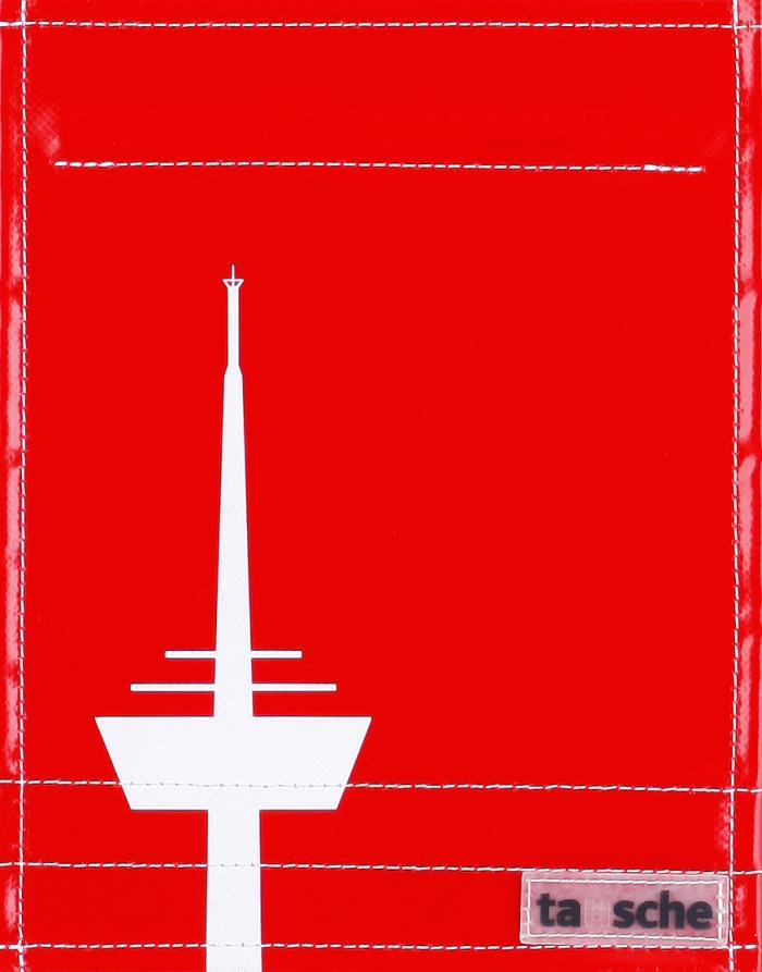 Köln Turm rot/weiß (klein)