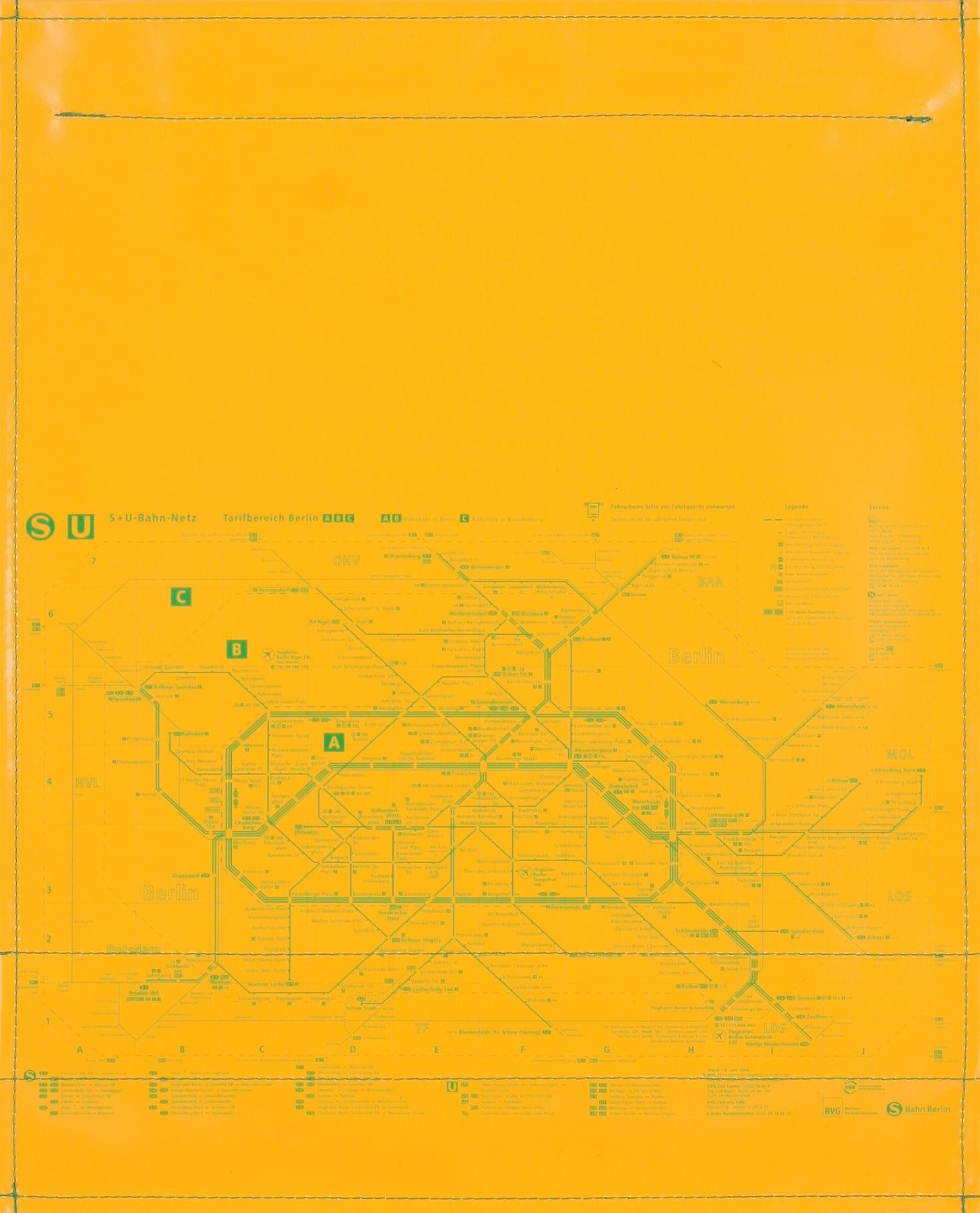 BVG gelb/grün (groß)