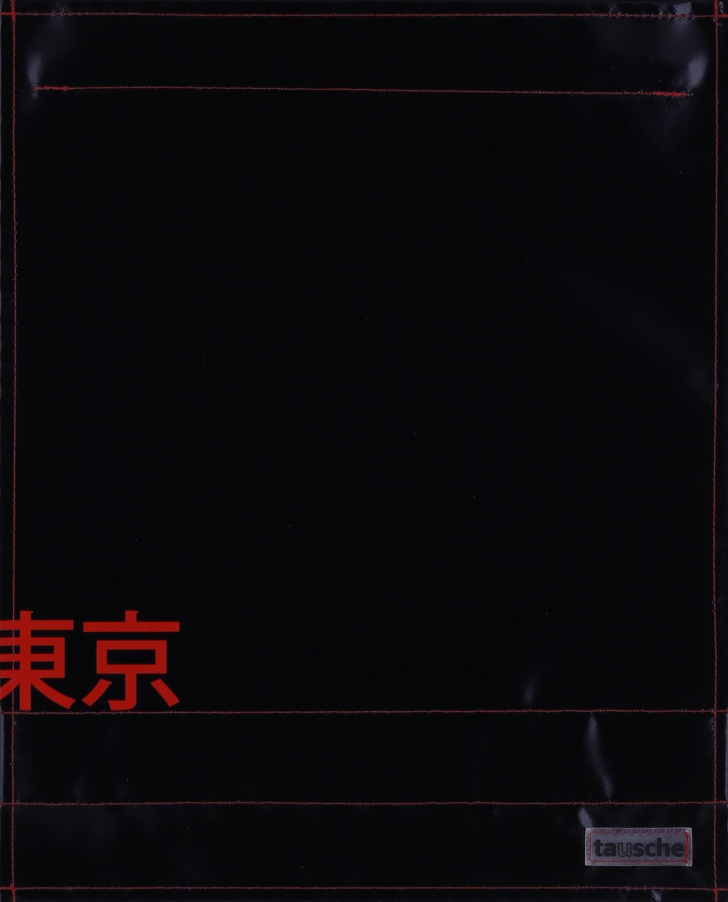 Tokyo schwarz/rot (groß)