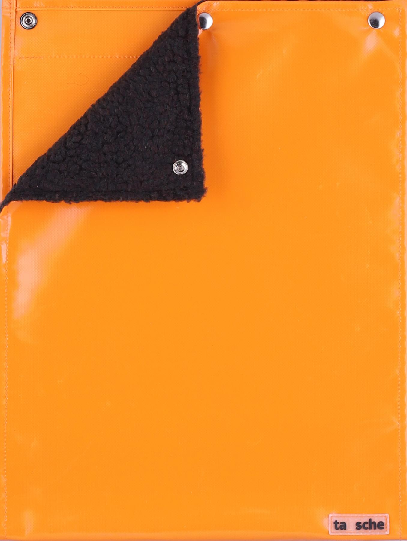 Sitz-/Wickeldeckel orange (groß)