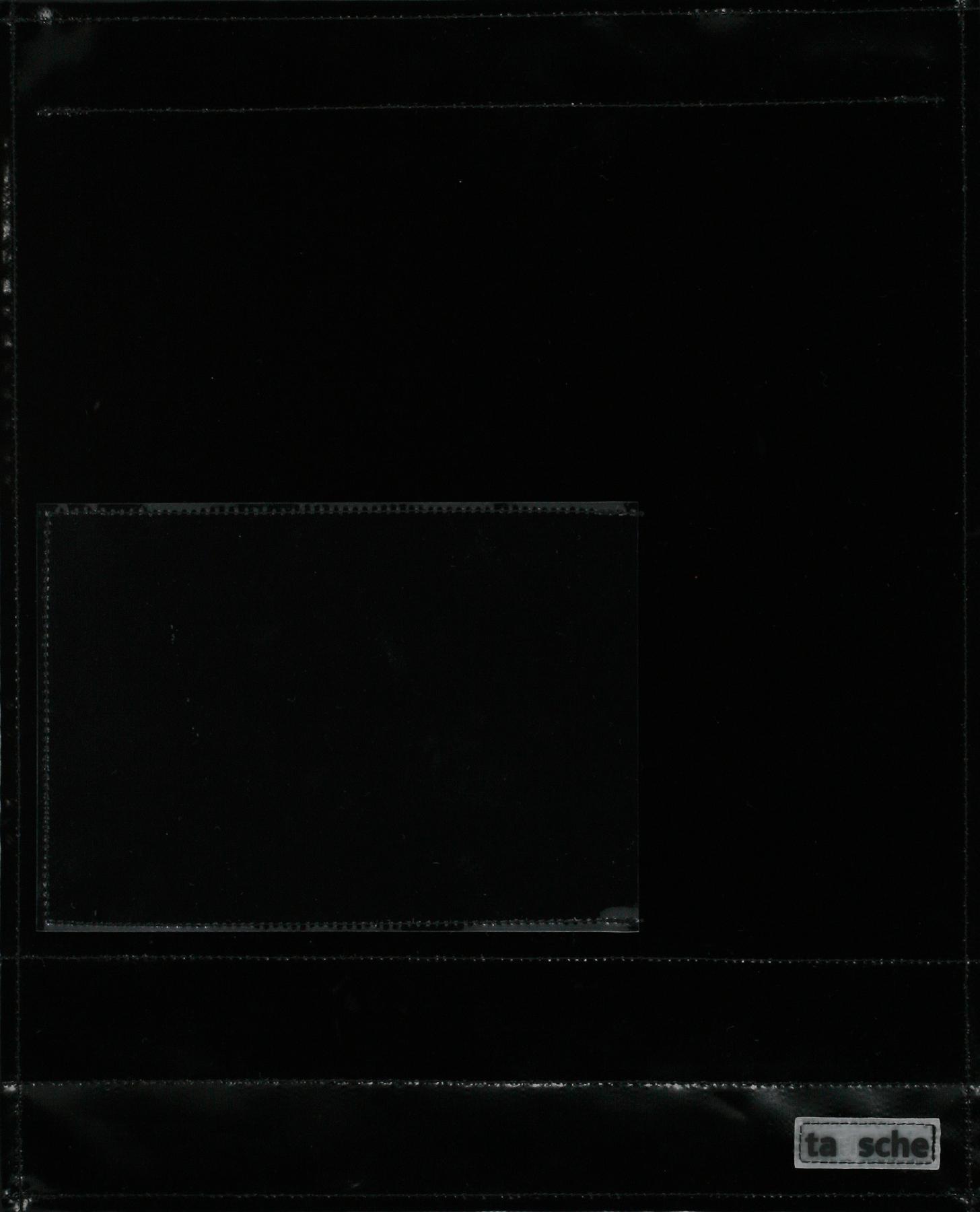 Fensterdeckel schwarz (groß)