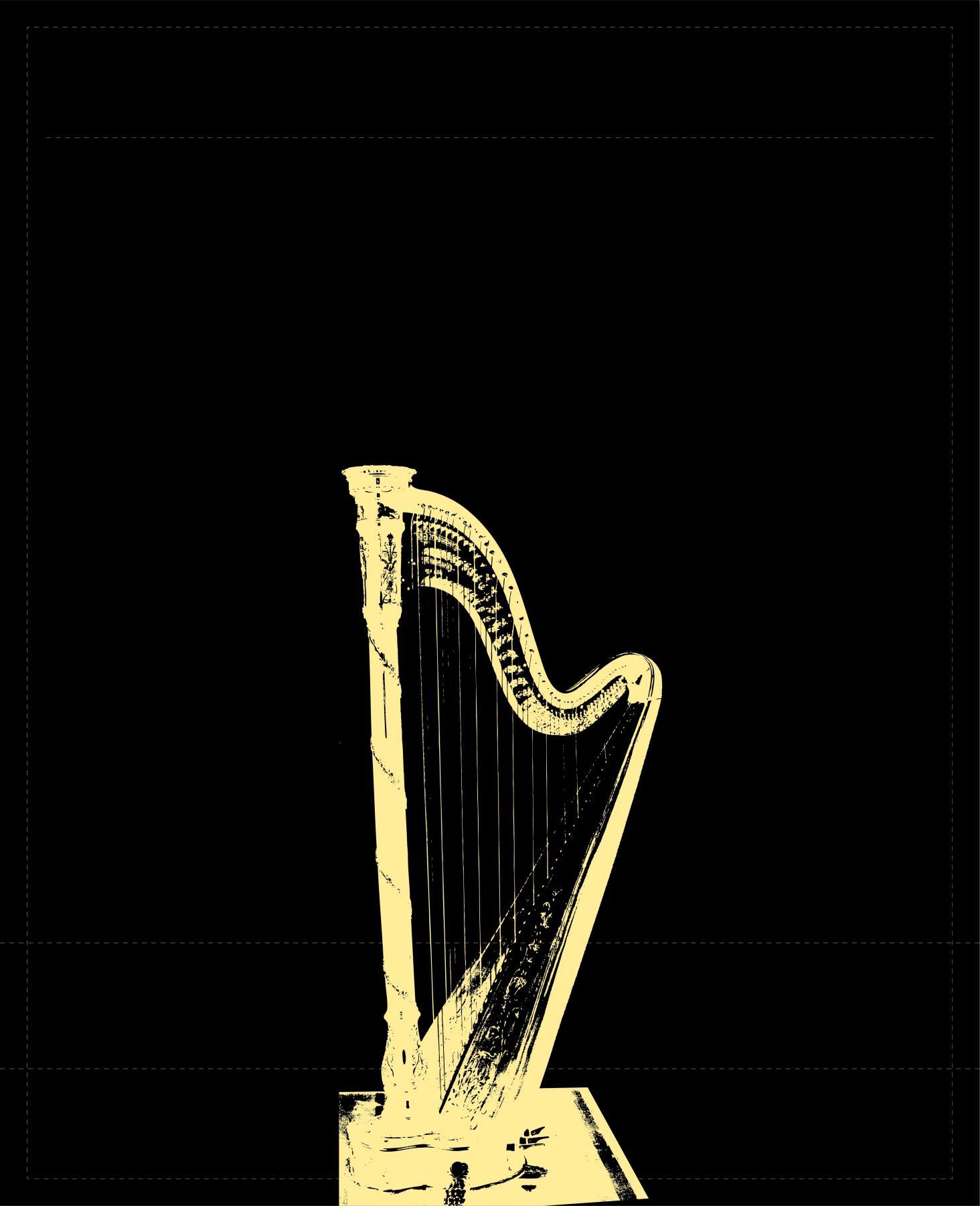 Harfe (groß)