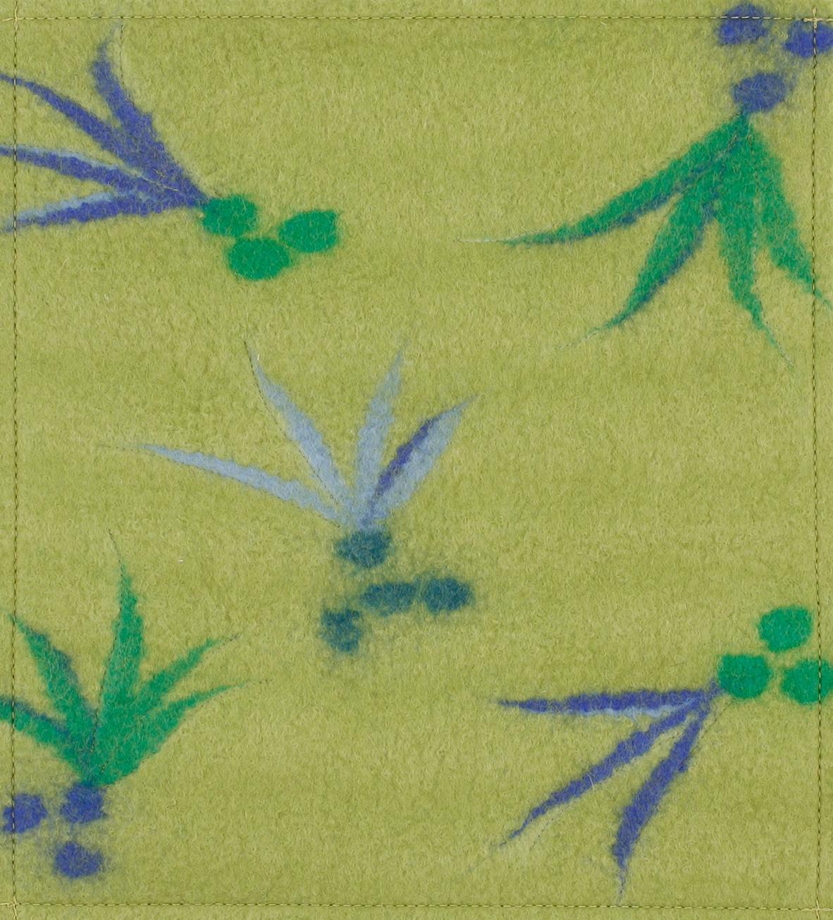 Filz Tropico oliv (mittel)