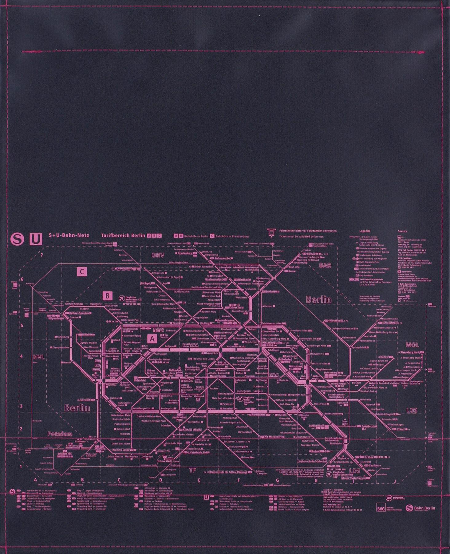 BVG schwarz/pink (groß)