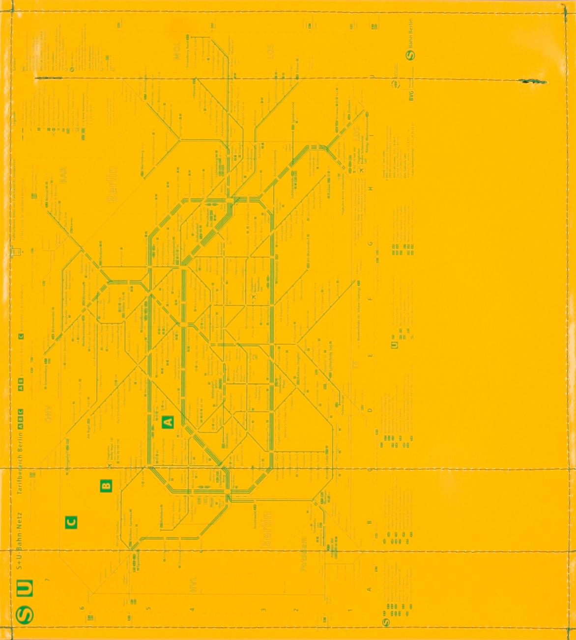 BVG gelb/grün (mittel)