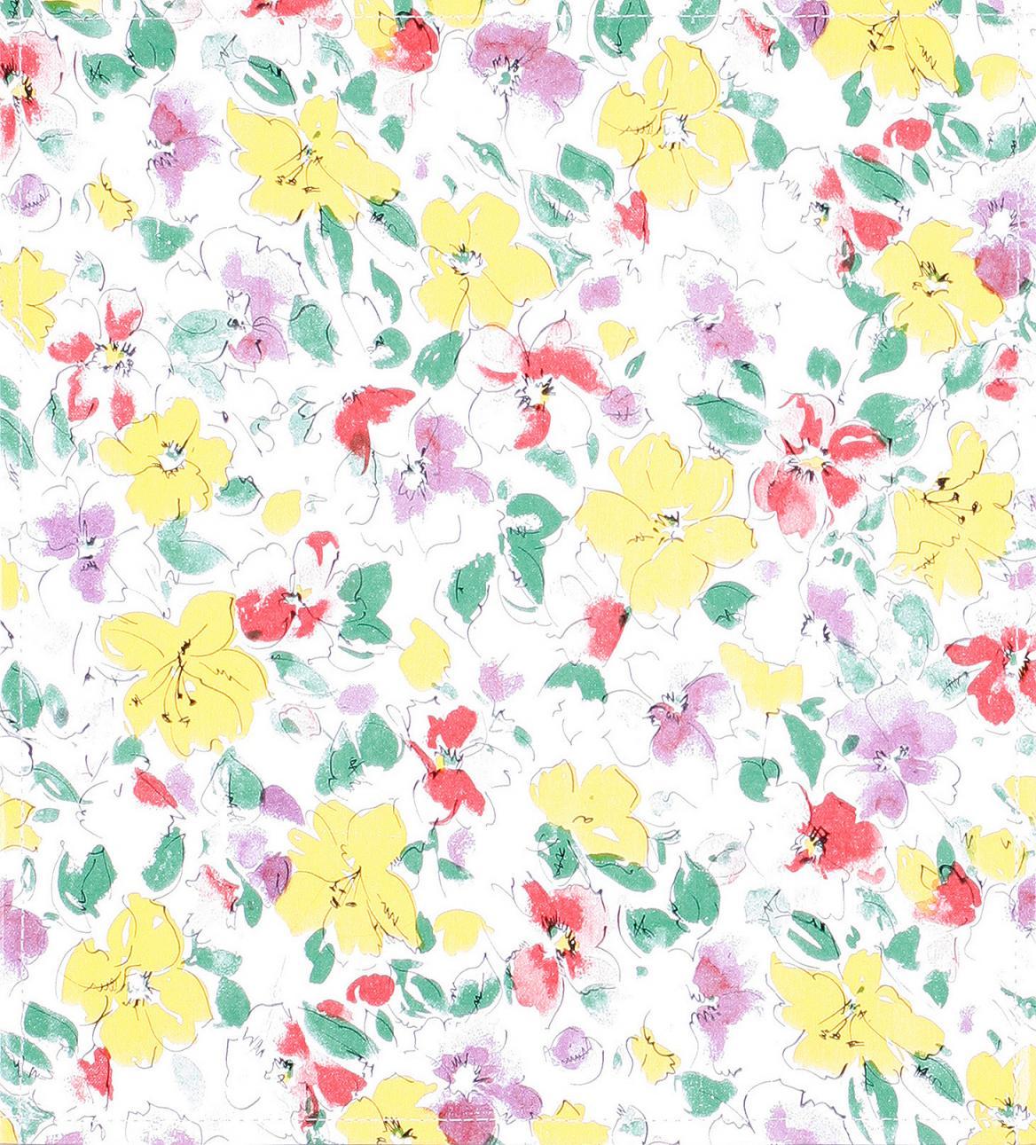 Wachstuch Blumen (mittel)