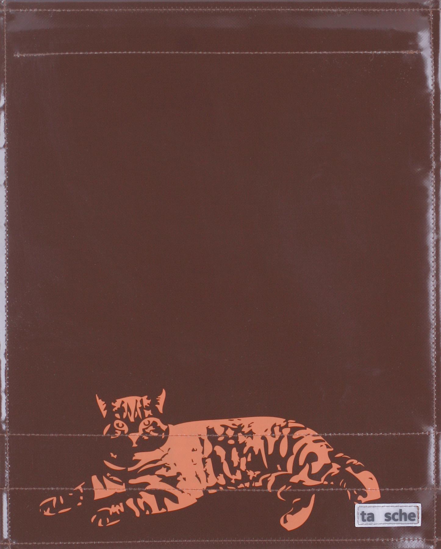 Katze braun/rostrot (groß)