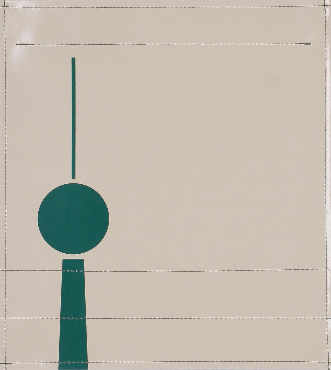 Fernsehturm helloliv/grün (mittel)