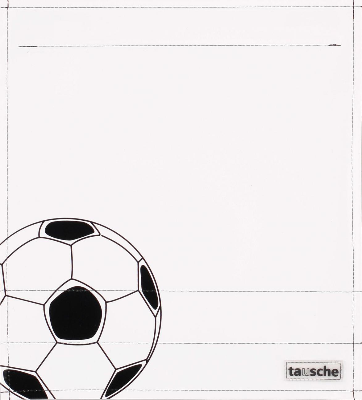 Fußball weiß/schwarz (mittel)