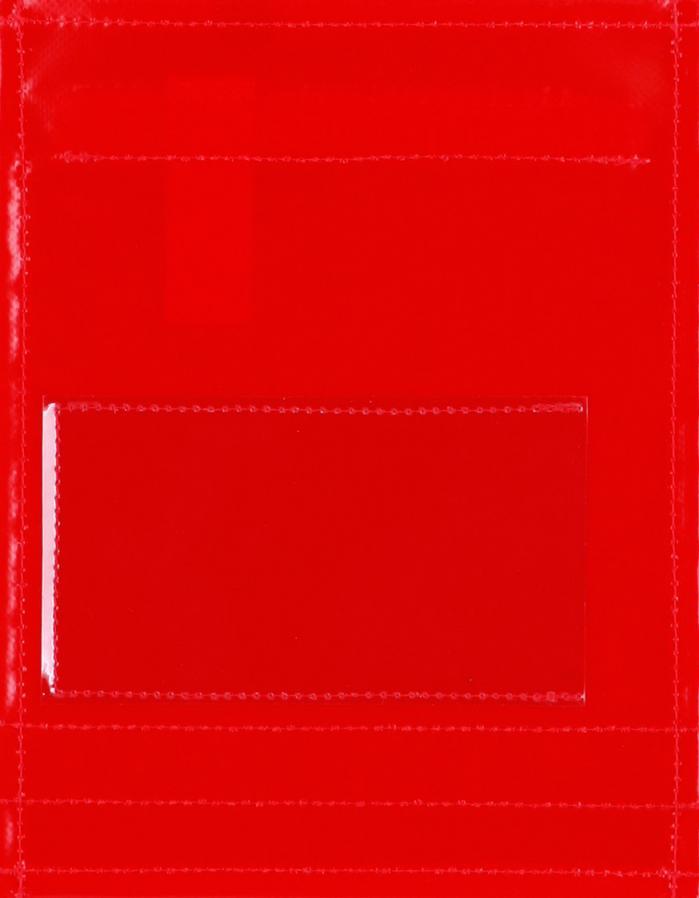 Fensterdeckel rot (klein)
