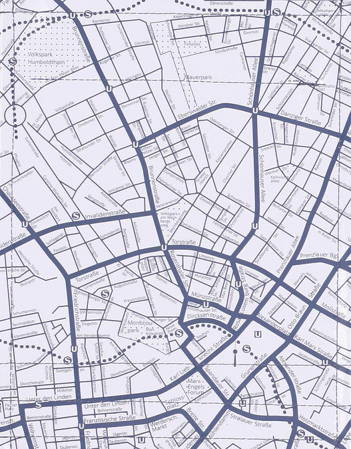 Stadtplan hellgrau (klein)