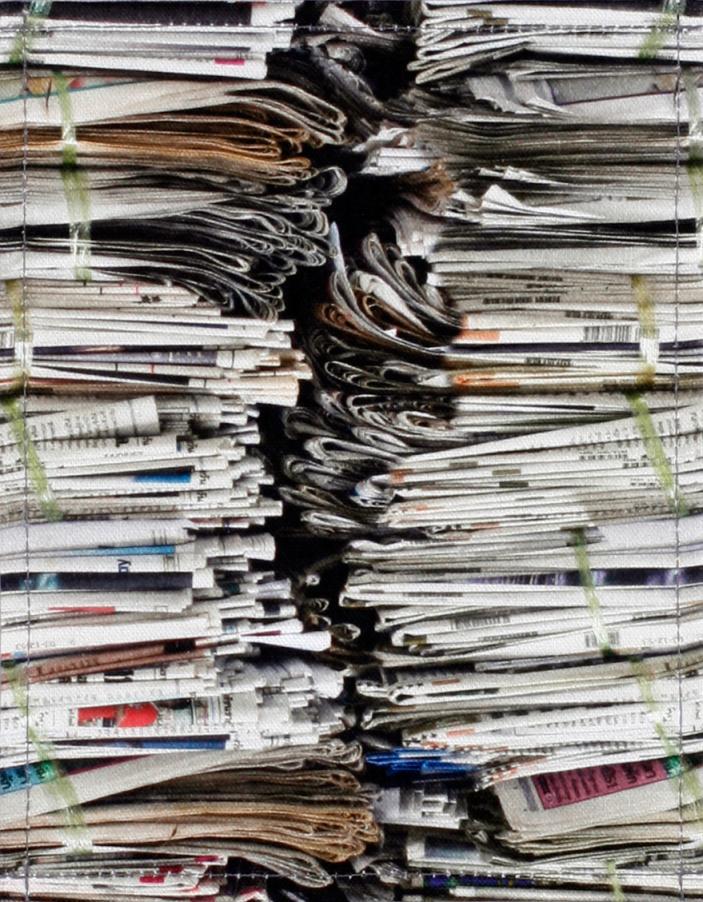 Zeitungsstapel (klein)