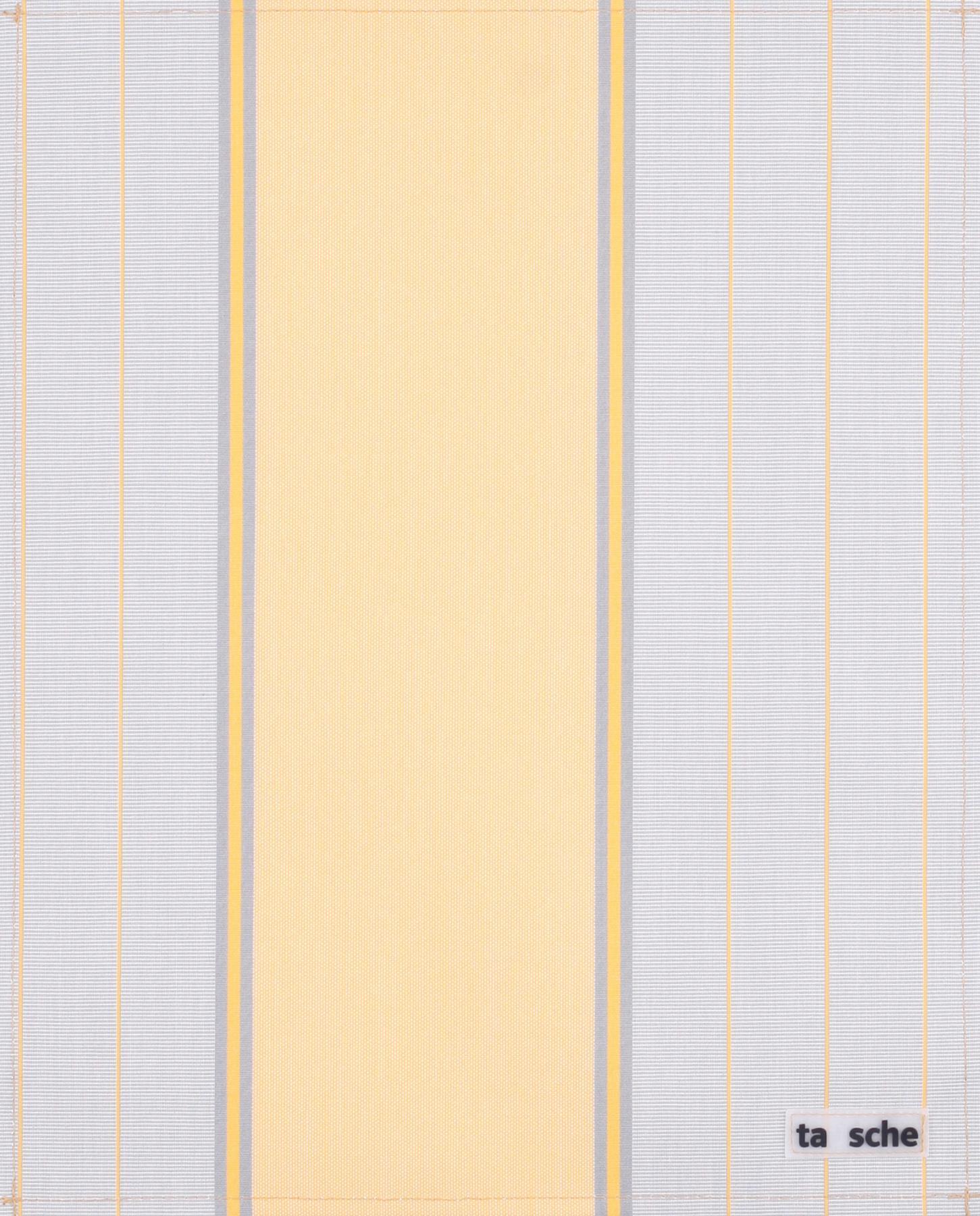 Markise gelb/grau (groß)