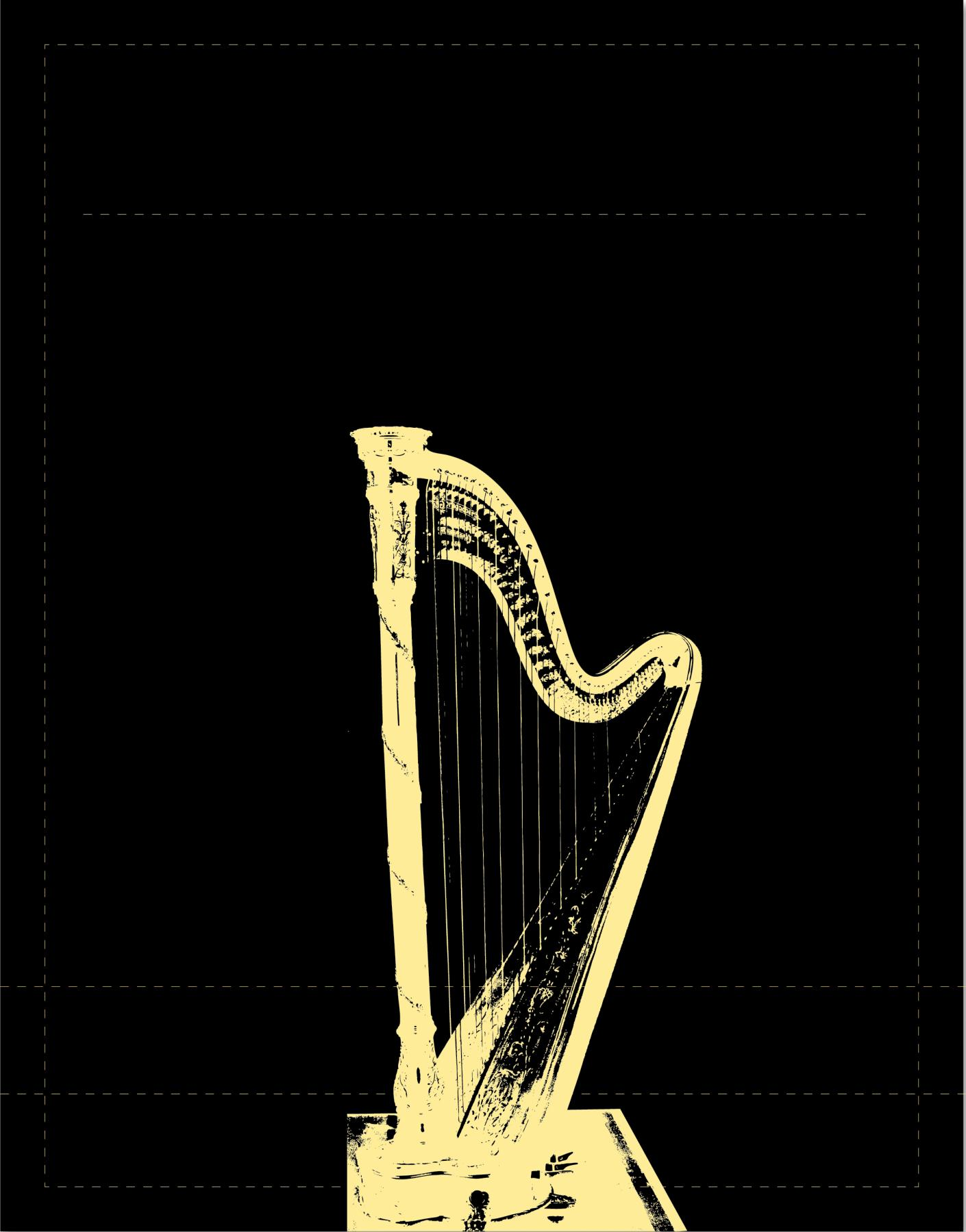 Harfe (klein)