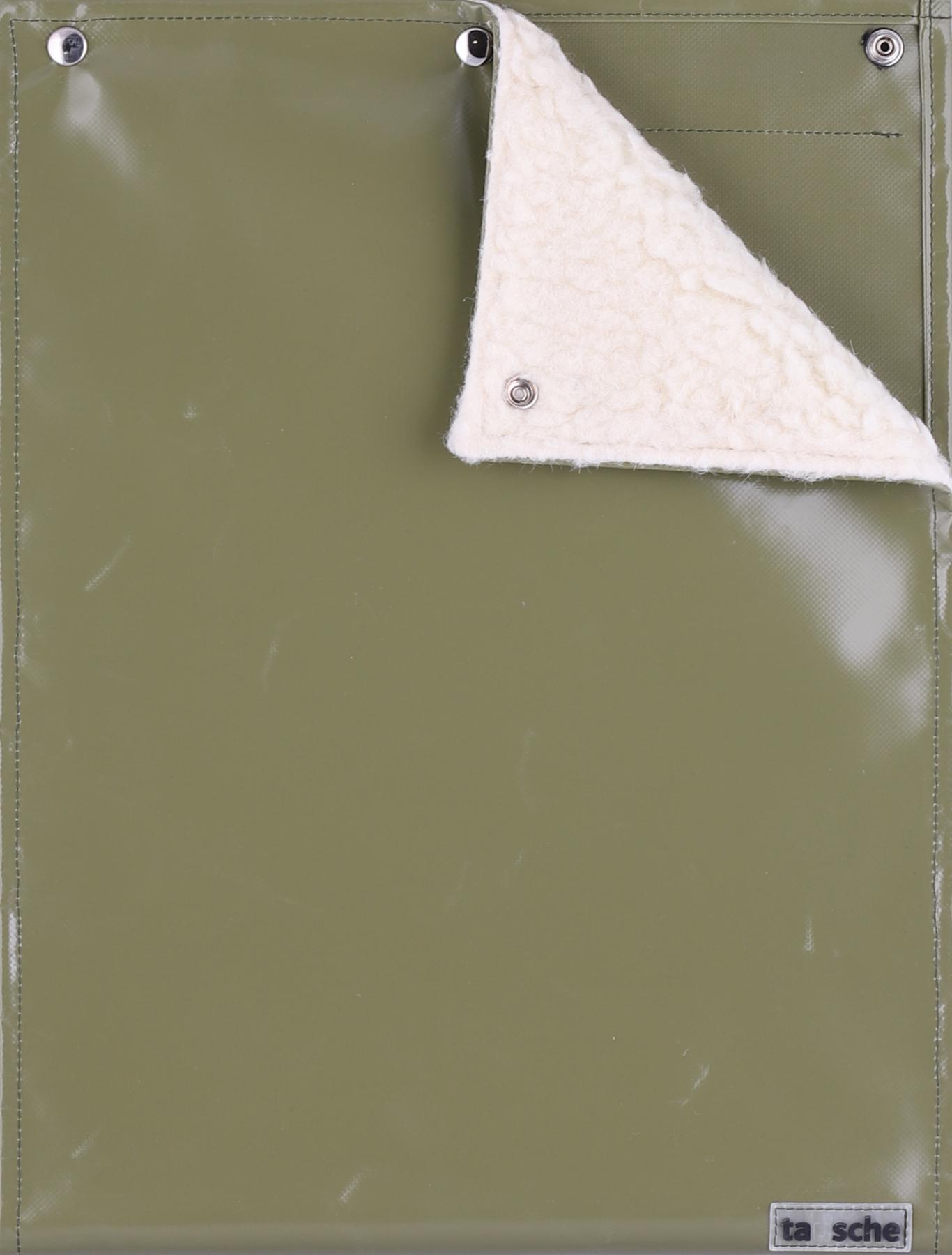 Sitz-/Wickeldeckel oliv(groß)