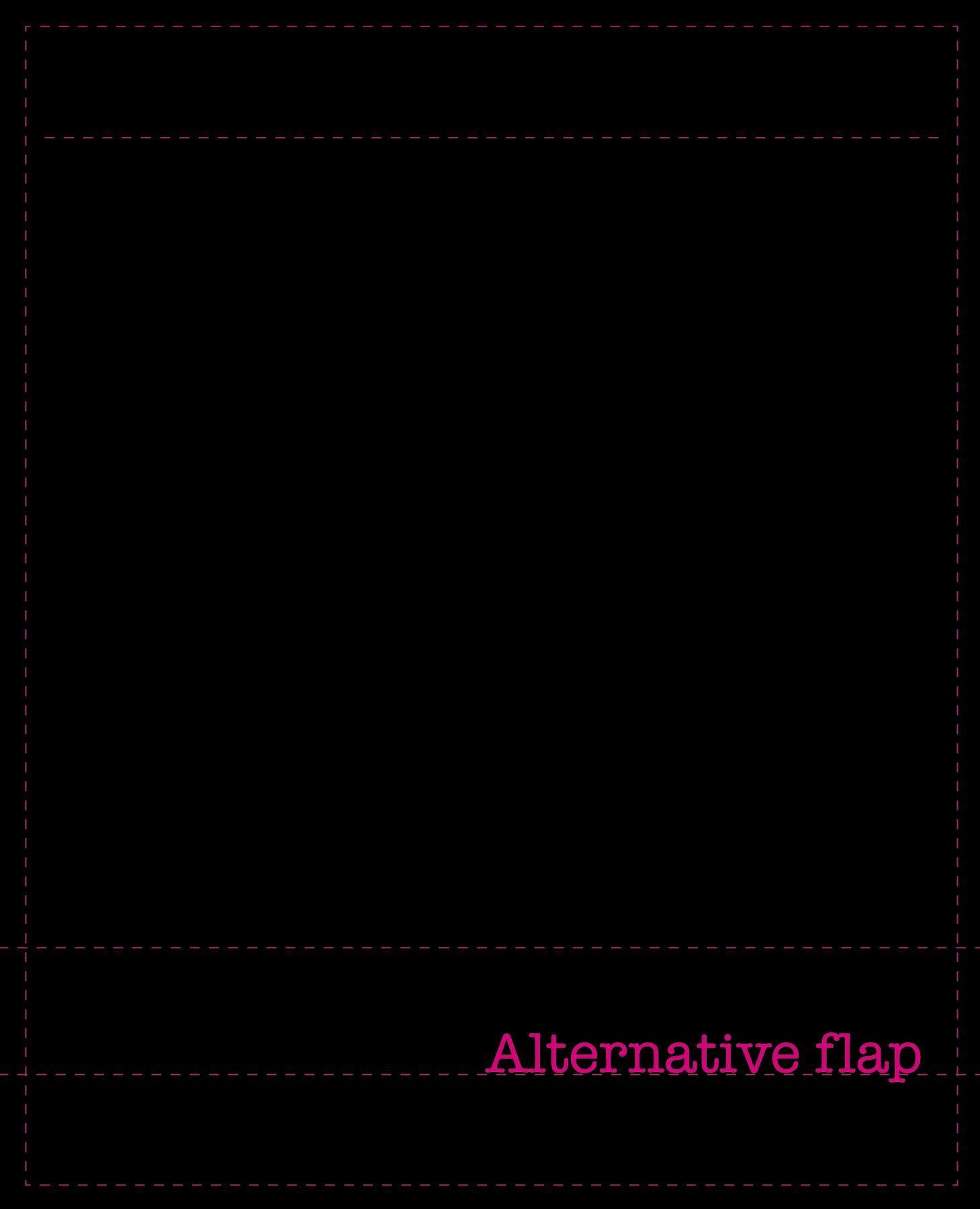 Alternative flap (klein)