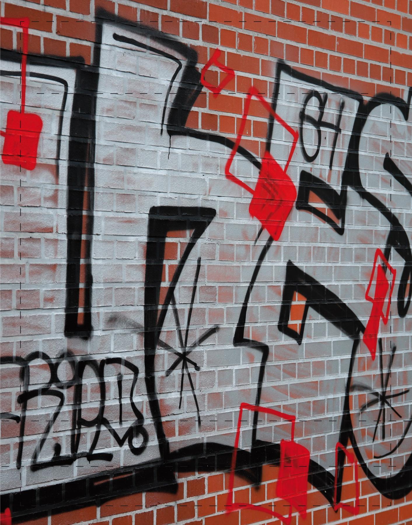 Graffiti Lüneburger (klein)