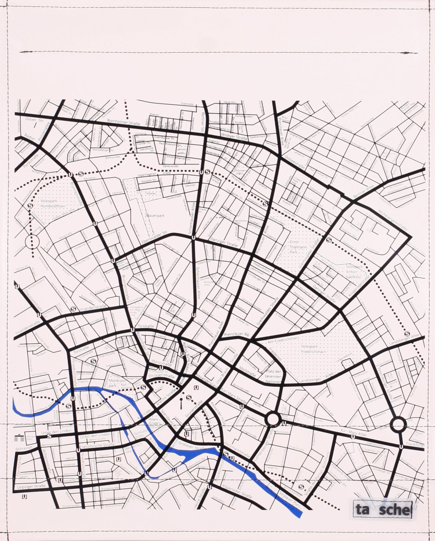 Stadtplan elfenbein (groß)