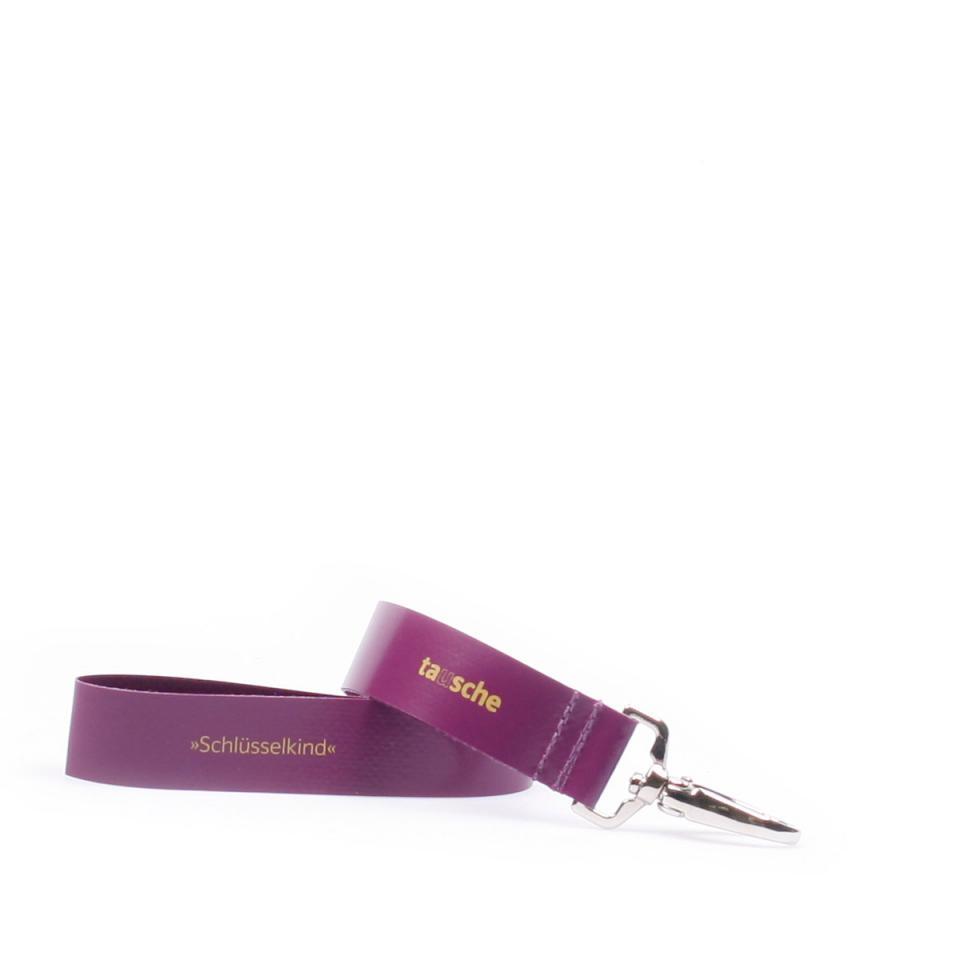 Schlüsselkind violett