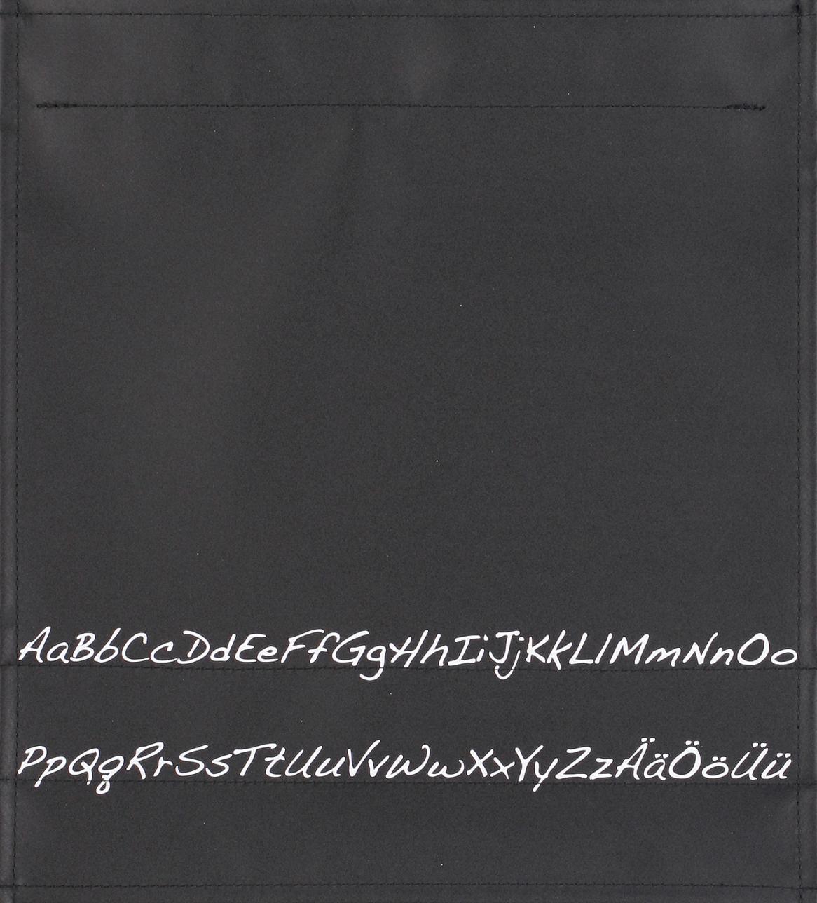 Alphabet schwarz/weiß (mittel)